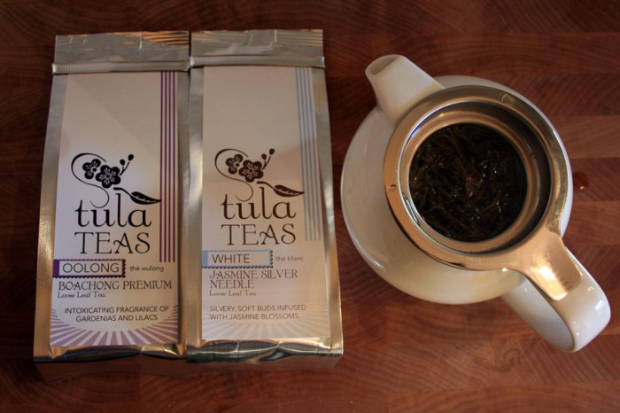 Package design for Tula Teas