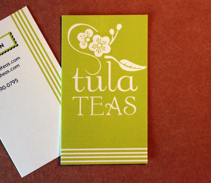 Logo design for Tula Teas