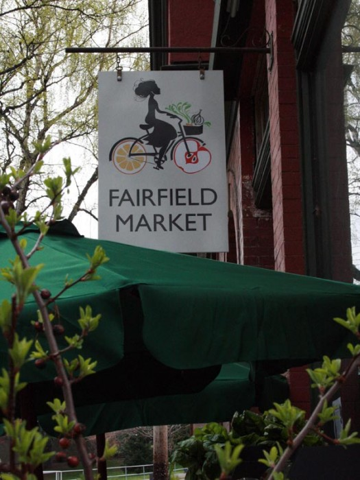 fairfield market logo design