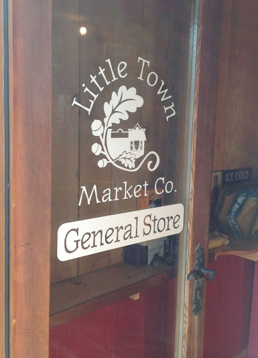 Logo Design for Little Town Market, Chemainus, BC