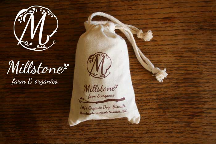 Logo design for Millstone farm & organics