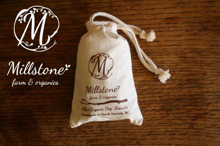 Logo design for Millstone farm & organics