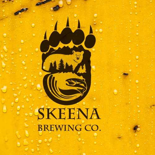 Logo design for Skeena Brewing