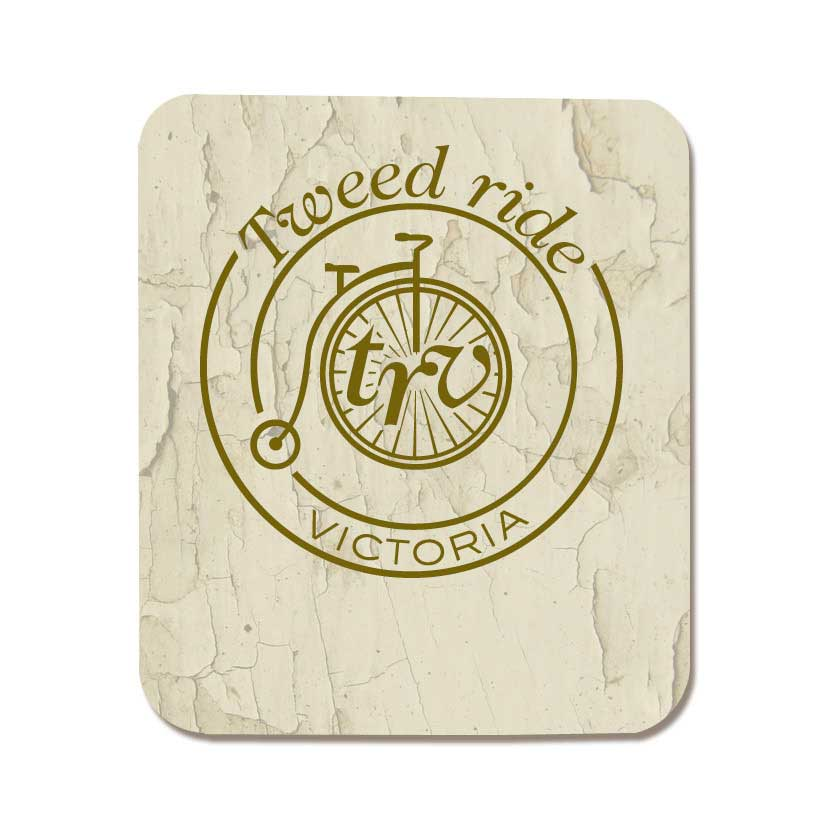 Tweed Ride Victoria logo - I designed the logo for the core of the brand in 2012.