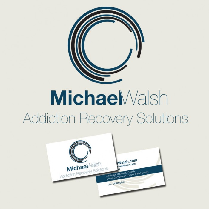 Logo Design for Michael Walsh Addiction Recovery Solutions