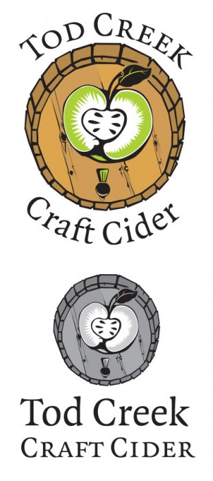 Tod Creek Craft Cider, logo design