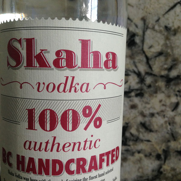 Graphic Design for Skaha Vodka