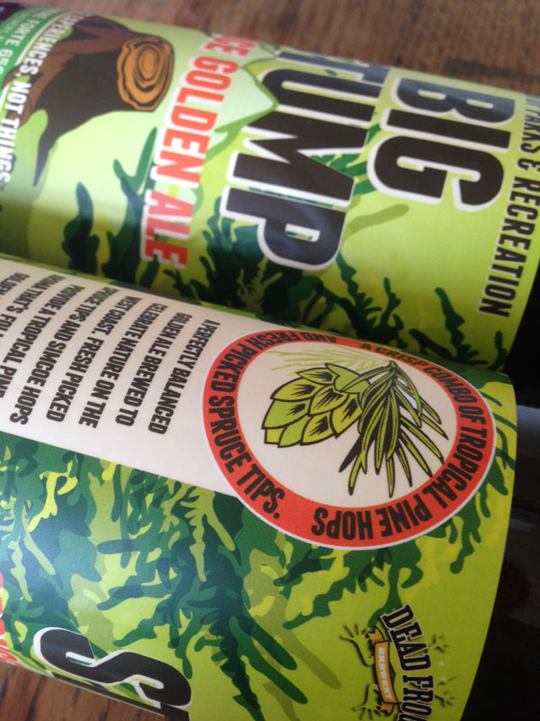 Label Design for Dead Frog Brewery