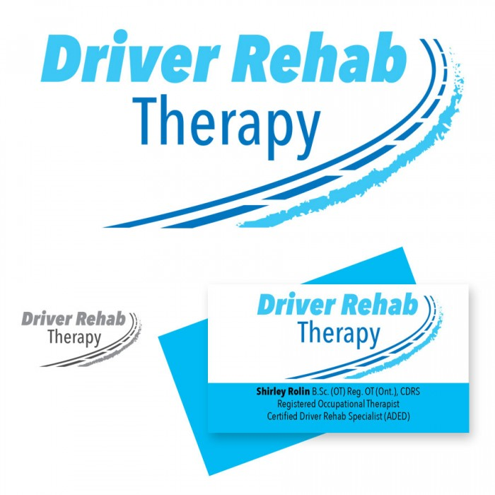 Logo Design Driver Rehab Therapy