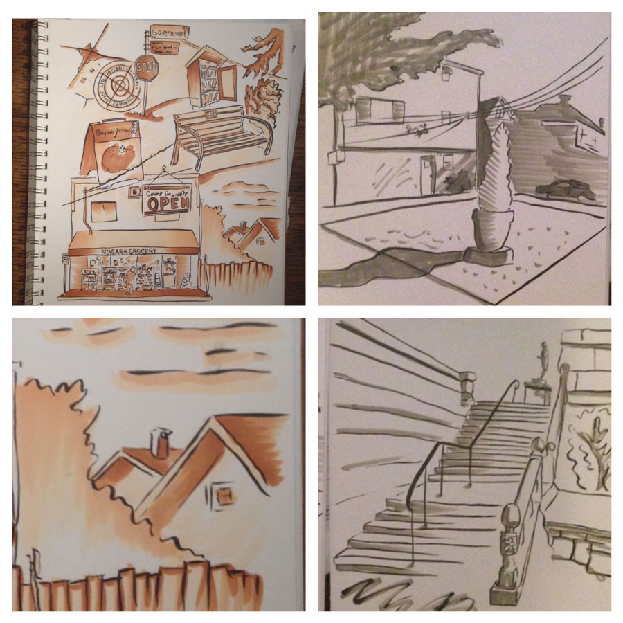 Drawing Week 50 – architectural drawings