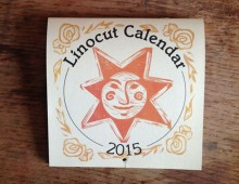 Linocut Calendar 2015