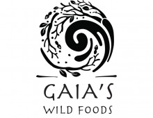 Logo and package design for Gaia's Wild Food