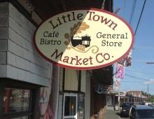 Logo Design for Little Town Market