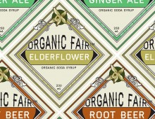Design for Organic Fair's Soda Syrups