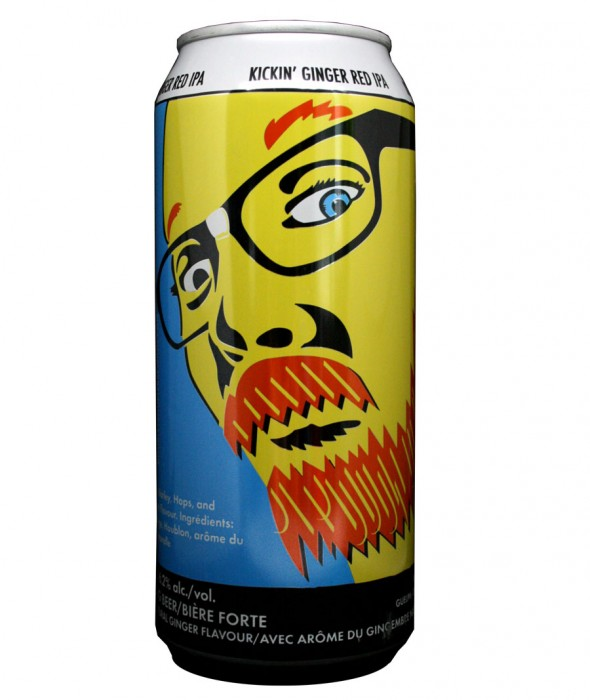 Design for Double Trouble Brewing Co's Revenge of the Ginger
