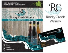 Design for Rocky Creek Winery