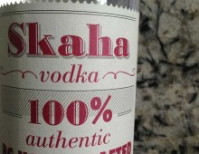 Label Design for Skaha Vodka