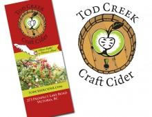 Design for Tod Creek Craft Cider