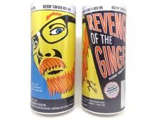 Illustration and Design for Revenge of the Ginger – 473 mL can