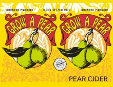 Design and Illustration for Double Trouble Brewing's Grow a Pear