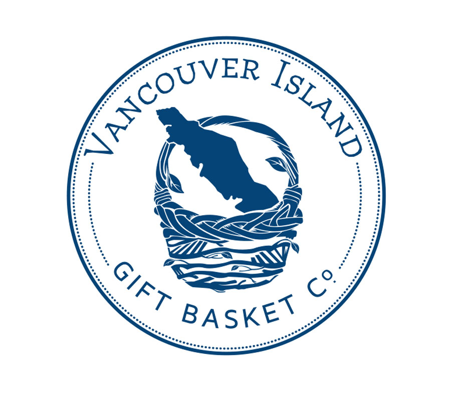 Logo Design for Vancouver Island Gift Basket Co.