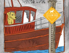 Design and Illustration for Wheelhouse Brewing Co.'s First Mate White IPA