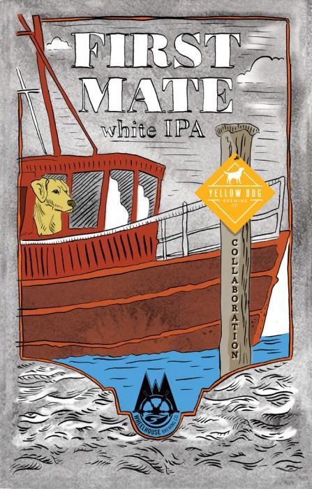 wheelhouse first mate white ipa