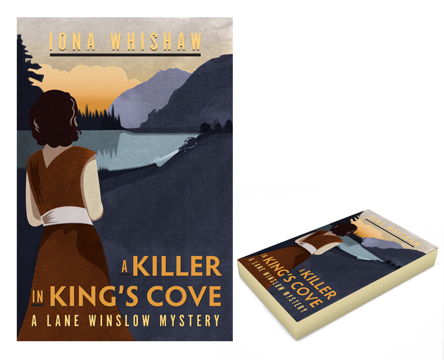 Cover Illustration - Killer in King's Cove