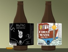 Design and Illustration for two new brews by Wheelhouse Brewing Co.