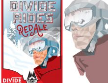 Brand design for Divide Rides Red Ale for Wheelhouse Brewing Co.
