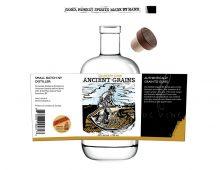 Label design and illustration for de Vine Wines & Spirit's Quarter Cask Whisky