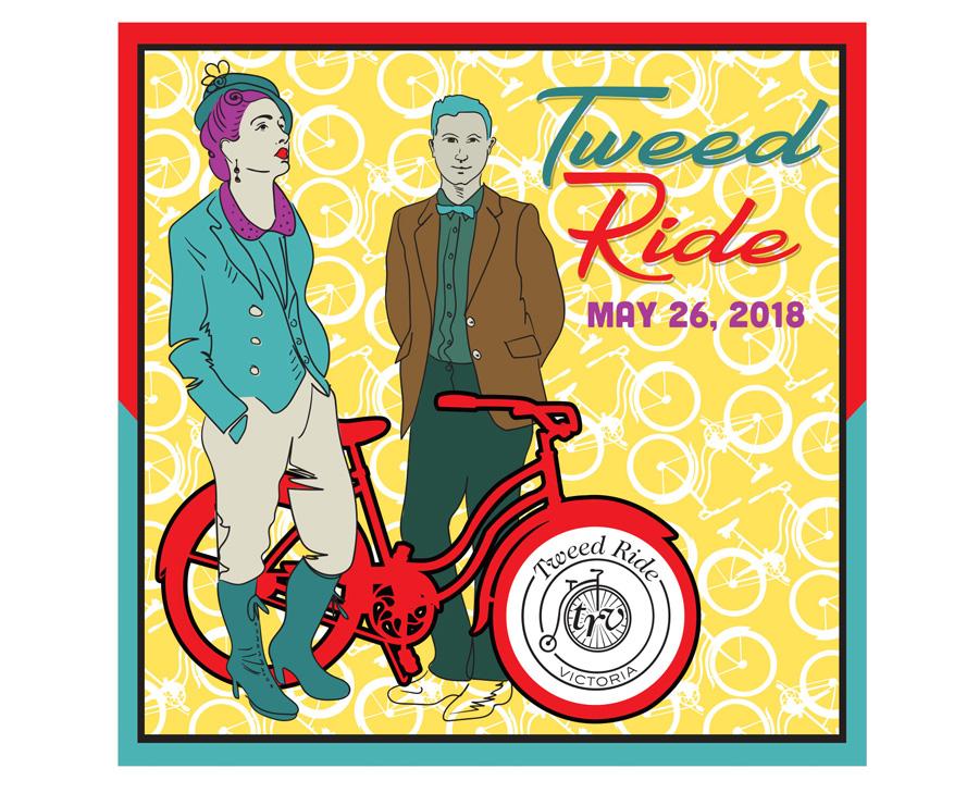 Tweed Ride Victoria, 2018