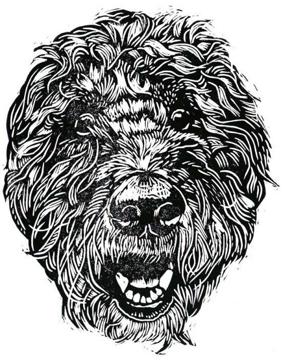 Tula Linocut Illustration