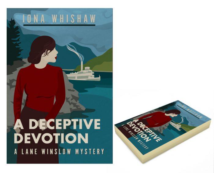 A deceptive Devotion. Book cover design and illustration