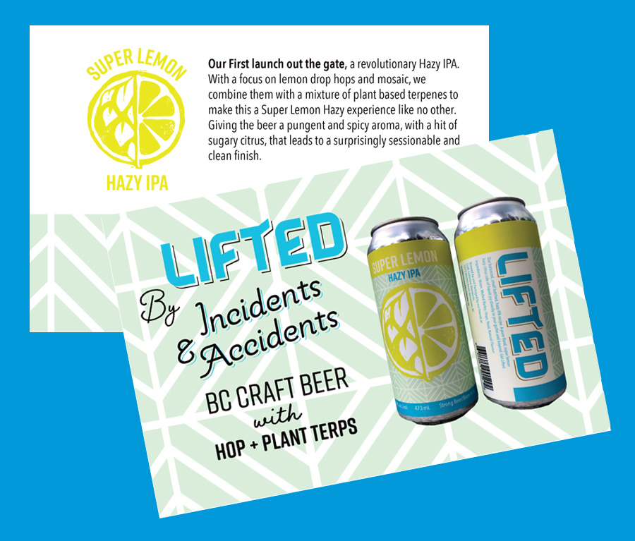 promotional materials for Lifted by Incidents and Accidents