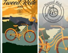 Design, Branding and Illustration for the 2017 Tweed Ride Victoria