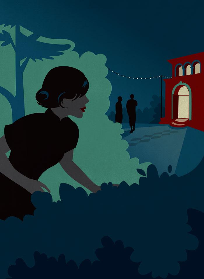 Cover illustration, A Sorrowful Sanctuary