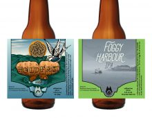 Design and Illustration for Wheelhouse Brewery's 2 newest beers