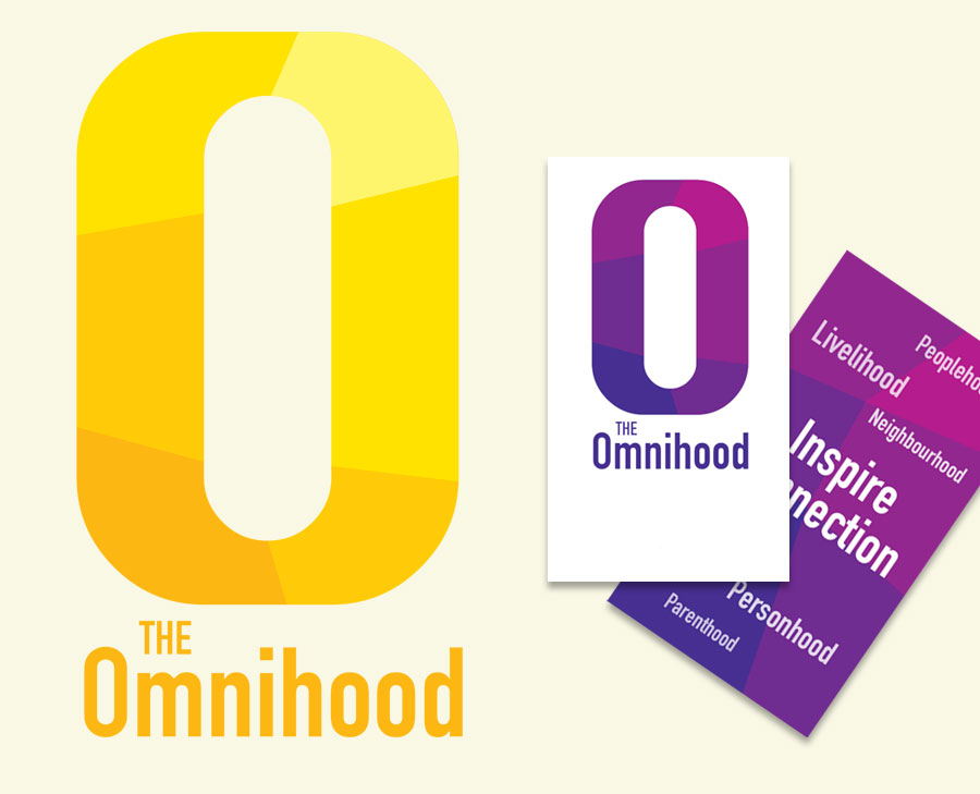 Logo Design and branding materials for the Omnihood