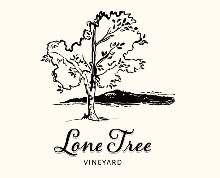 Brand design and Illustration for Lone Tree Vineyard
